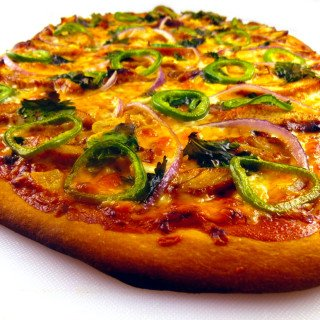 BBQ Chicken Jalapeno Pizza