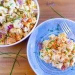 Deviled Egg Potato Salad | Whole Made Living