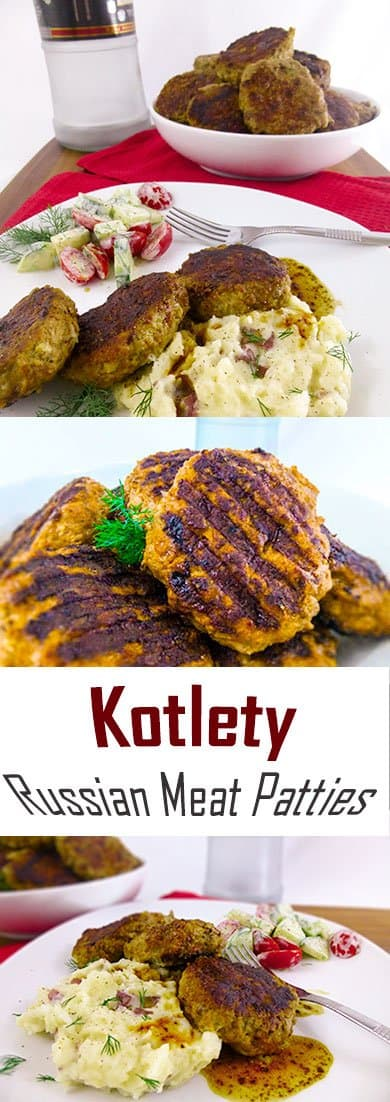 Kotlety Russian Meat Patties Pinterest Collage