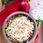 Tangy & Slightly Sweet Mustard Slaw | Whole Made Living